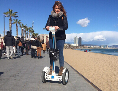 К 2015 году школы Эль баланс сил Airwheel линии электрического автомобиля